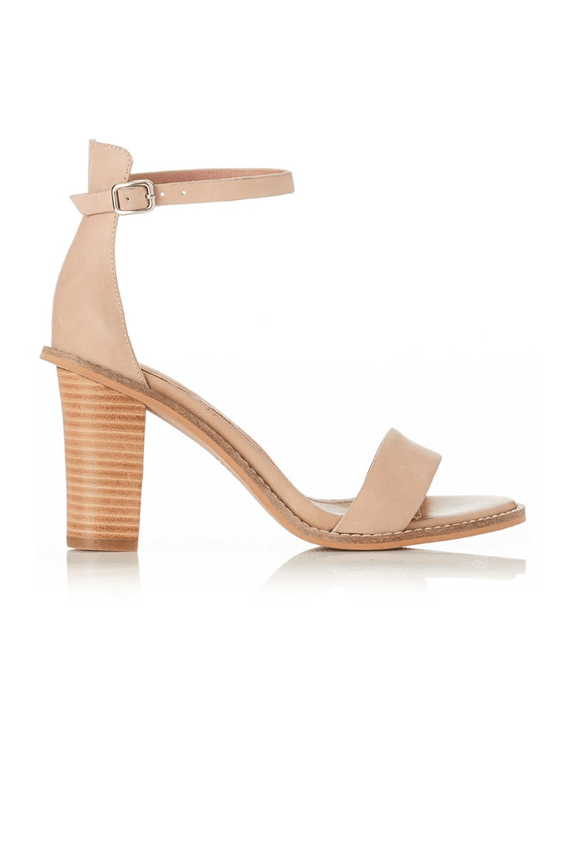 Eve Heel Natural Leather
