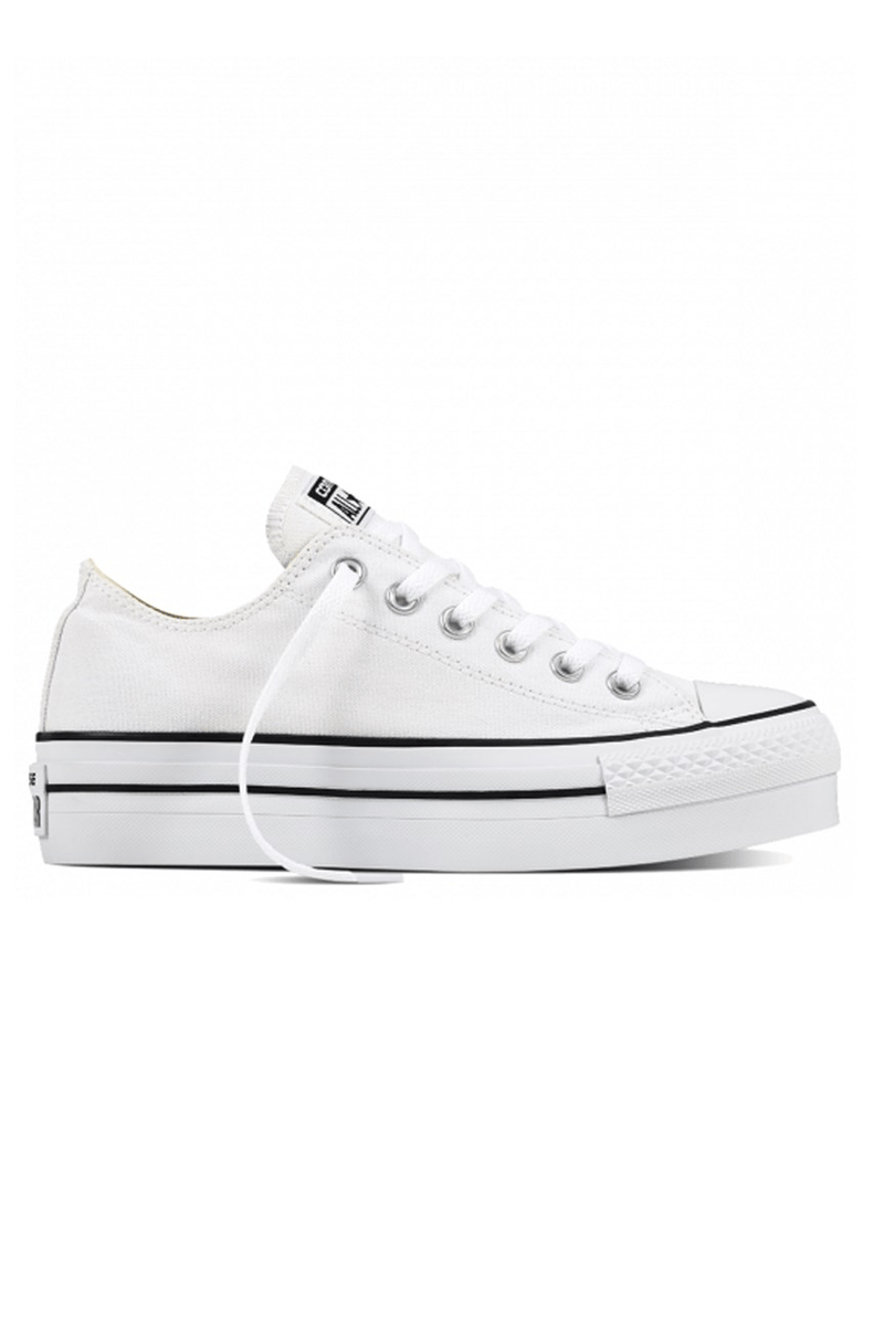 734f87f1039da0 Chuck Taylor All Star Platform Low Top White - Jean Jail