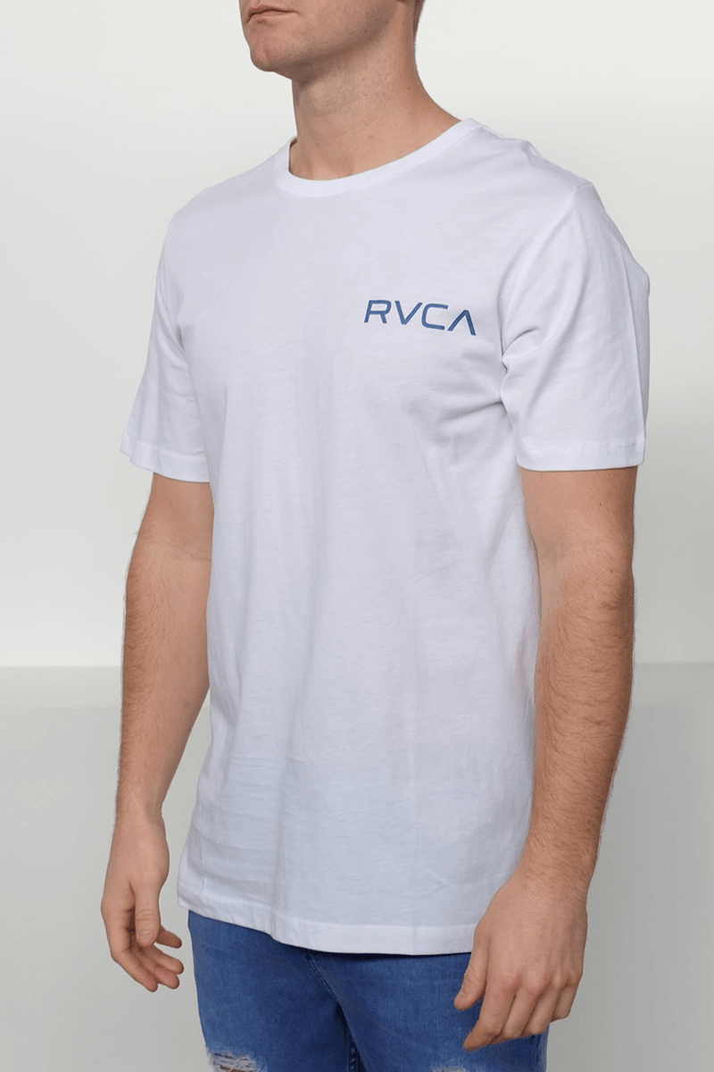 Little RVCA Tee White RVCA - Jean Jail