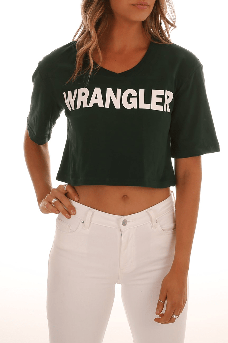 Quarter Back Tee Team Green Wrangler - Jean Jail