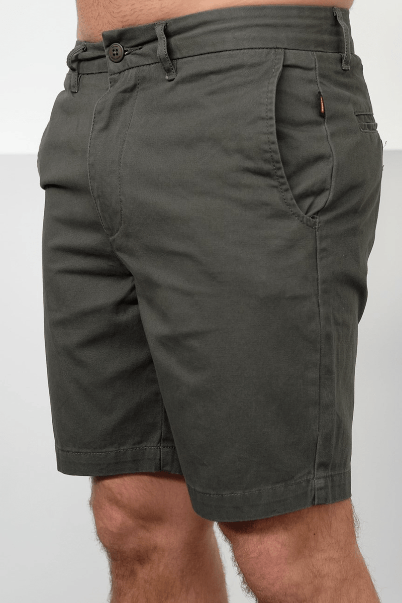 Goodstock Chino Walkshort Army Globe - Jean Jail