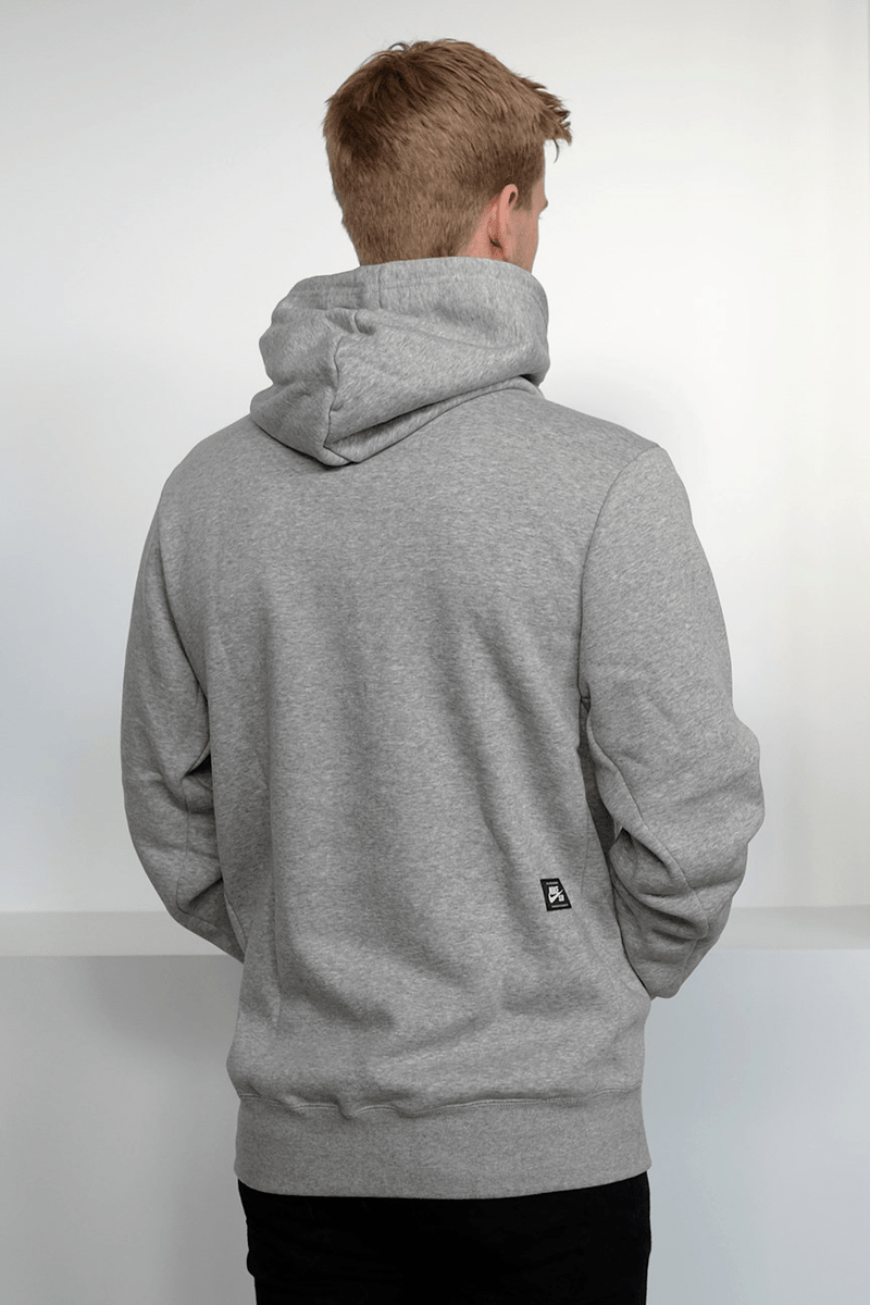 SB Icon Pullover Hoodie Dark Grey Heather Black