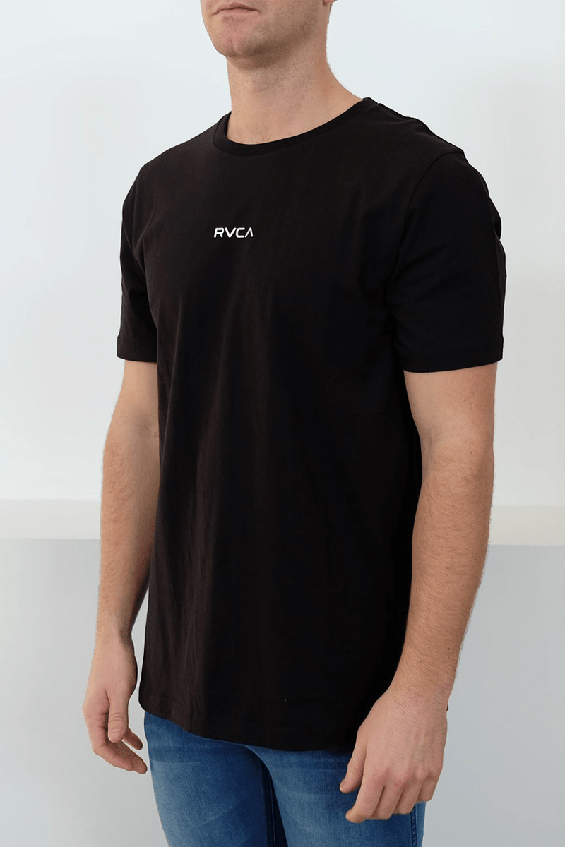 Mini RVCA Tee Black RVCA - Jean Jail