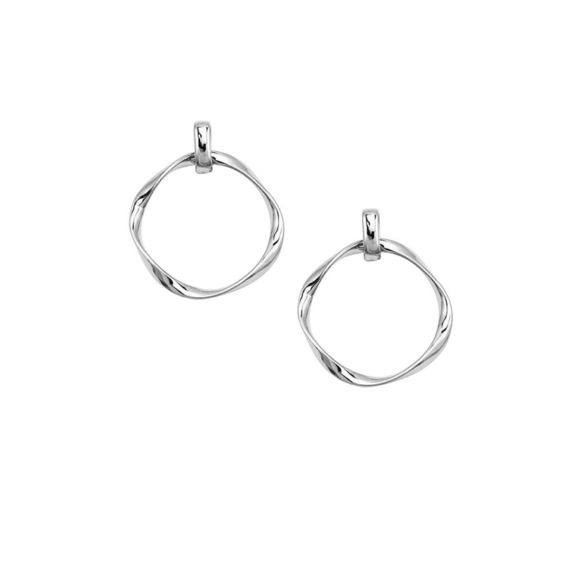 Vera Earrings Silver Jolie & Deen - Jean Jail