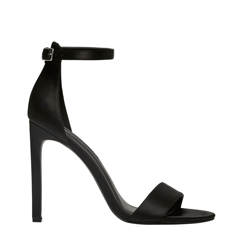 Suki Heel Black Satin Windsor Smith - Jean Jail