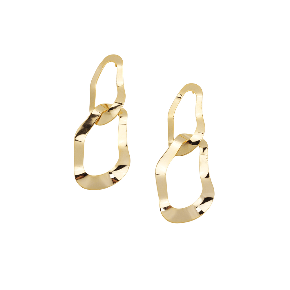 Amanda Earrings Gold