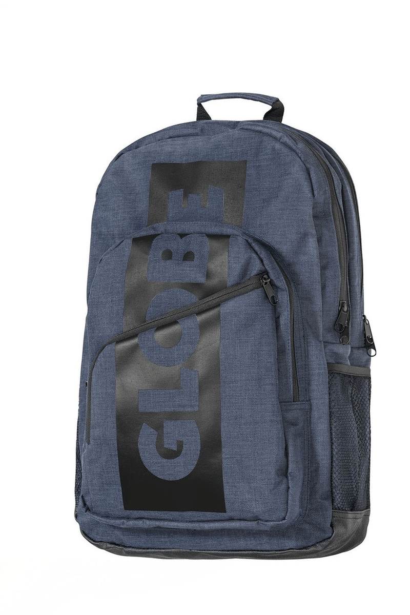 Jagger III Backpack Indigo Globe - Jean Jail