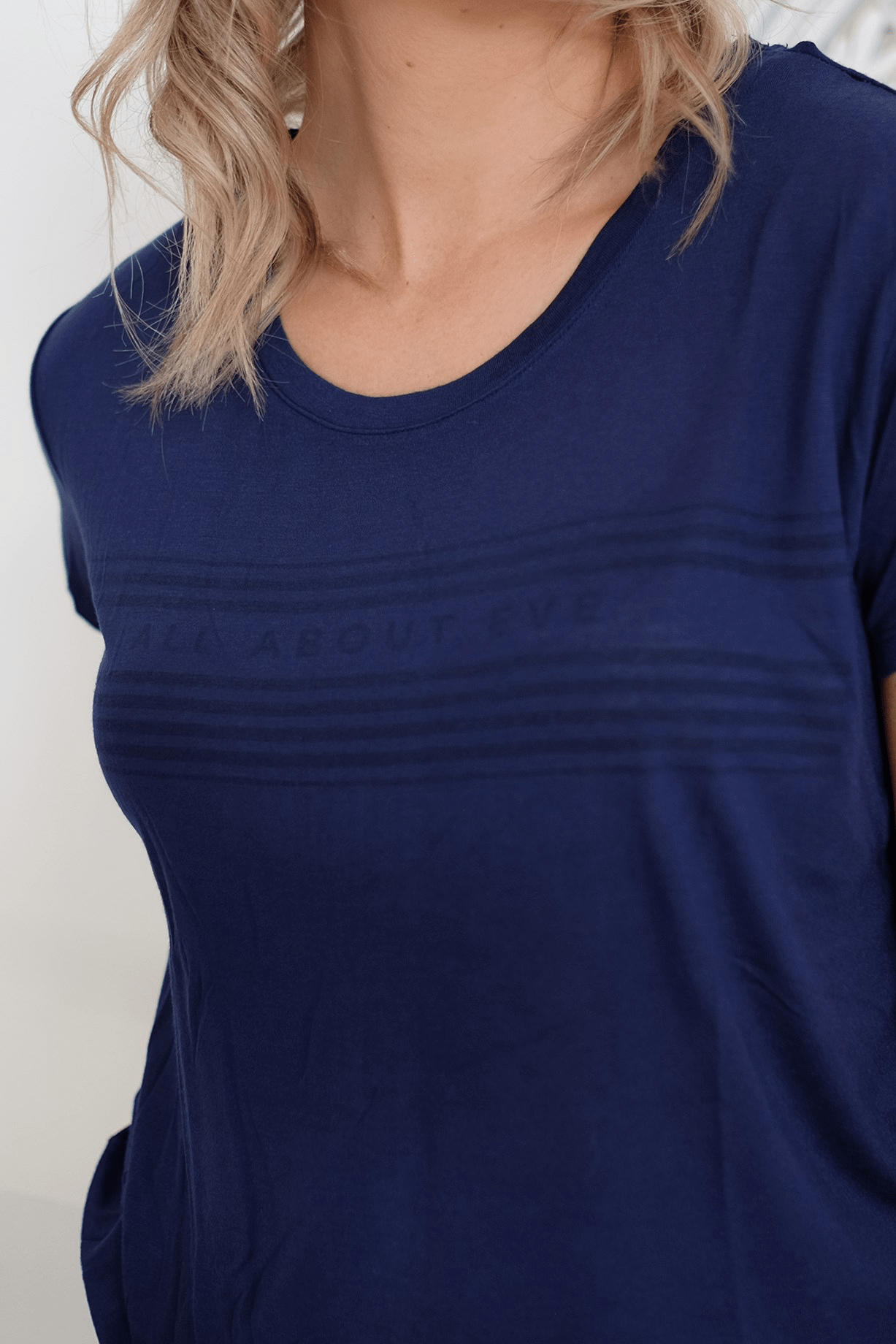 Ellie Tee Navy