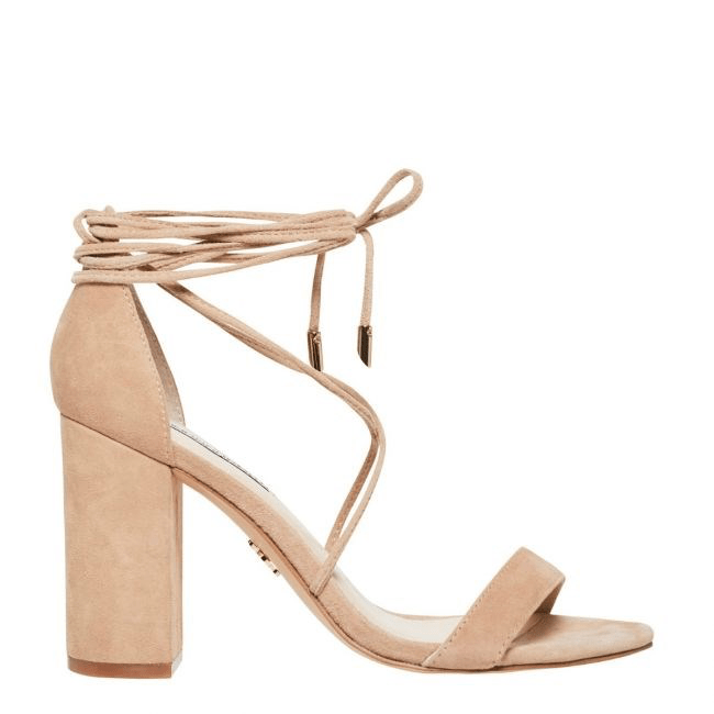Idina Heel Nougat Suede Windsor Smith - Jean Jail