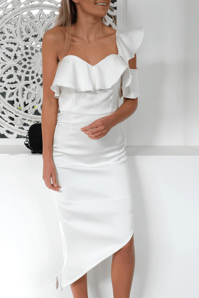 La Dame Blanche Dress White ATOIR - Jean Jail