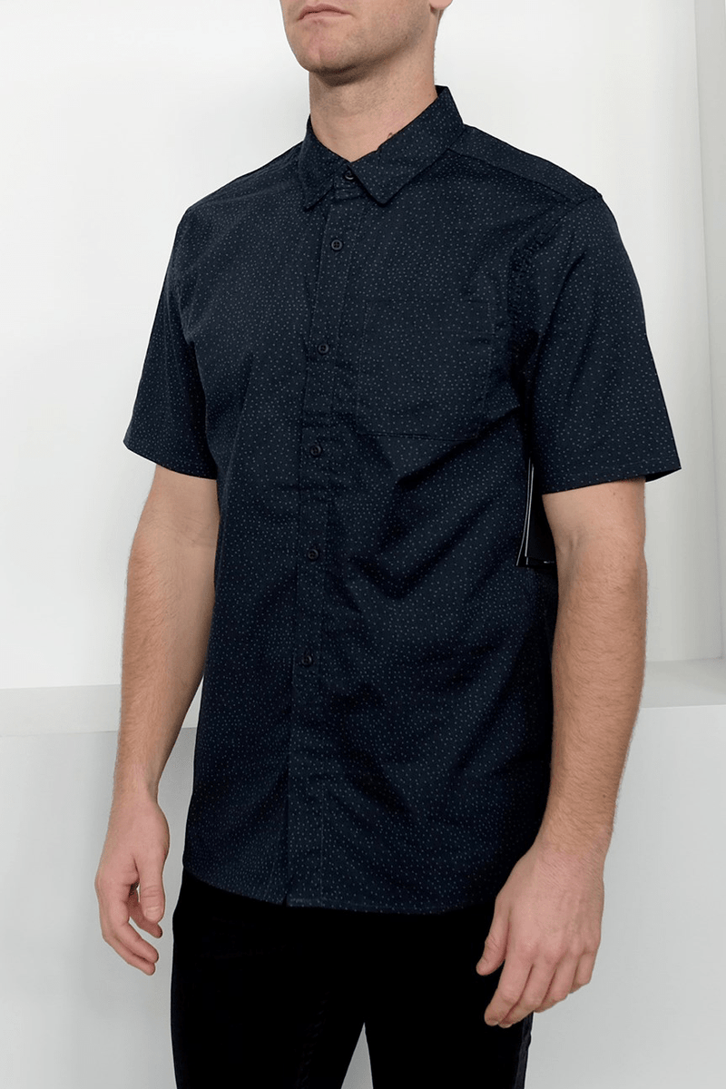 Dri-Fit Tod Short Sleeve Shirt Black Hurley - Jean Jail