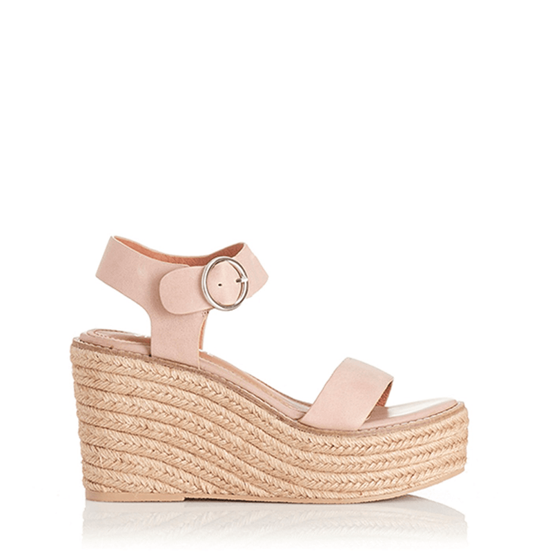 Kani Wedge Blush Leather Alias Mae - Jean Jail