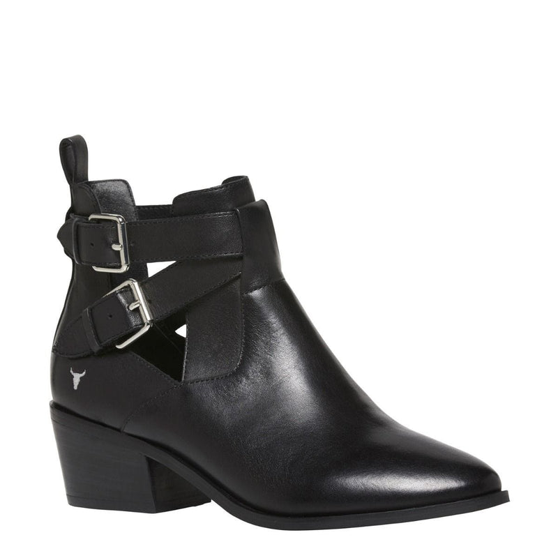 Juliana Boot Black Leather