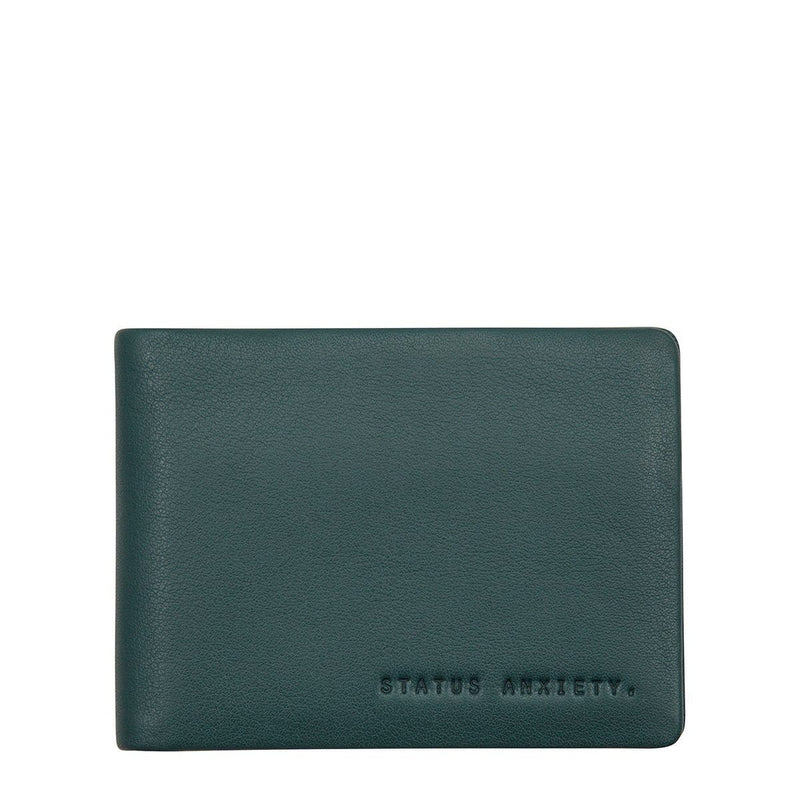 Jonah Wallet Teal Status Anxiety - Jean Jail