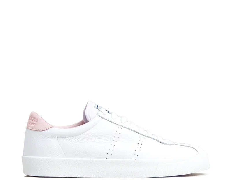 2843 Clubs Comfleau White Pink Superga - Jean Jail