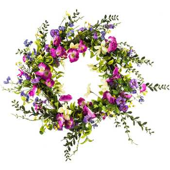 Morning Glory Wreath