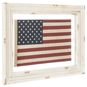 American Flag Framed Wall Decor - King City Treasures