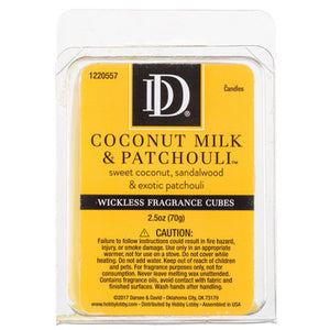Coconut Milk & Patchouli Wickless Fragrance Cubes - King City Treasures