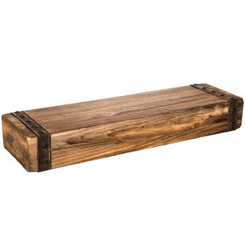Rustic Chunky Wood Floating Wall Shelf