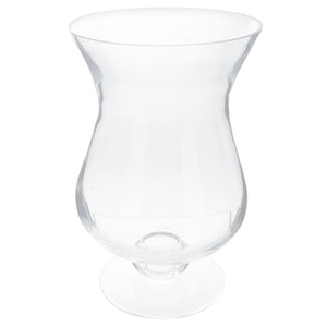 Tulip Hurricane Glass Candle Holder - Small