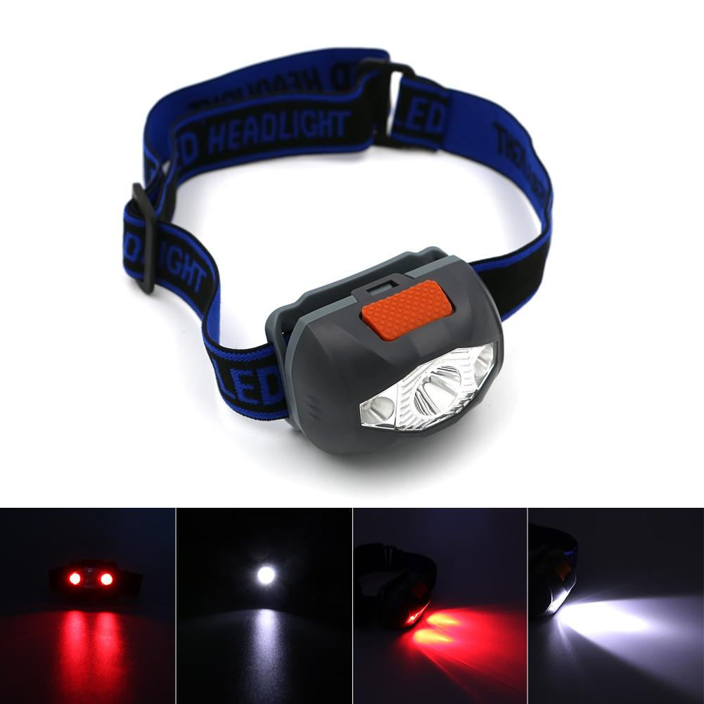 3 LED 800 Lumens 4 Modes Mini Headlamp Outdoor  Waterproof Flash Torch Lantern For Hunting,Use AAA Battery - King City Treasures
