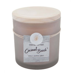 Coconut Beach Jar Candle - King City Treasures