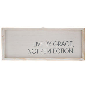 Live By Grace Wood Wall Decor