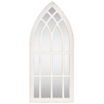Cathedral Mirror Wood Wall Decor - King City Treasures