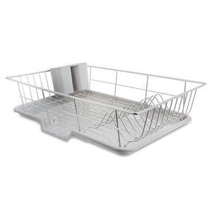 Stainless Steel Kitchen Storage Utensil Drainer Rack