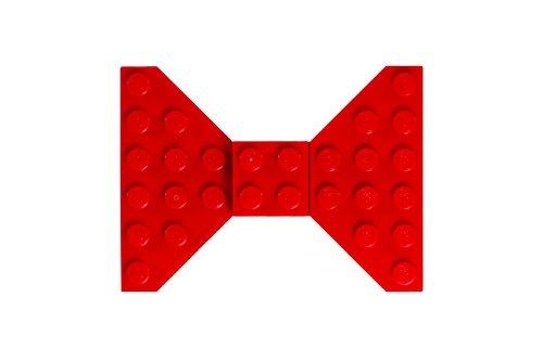 Custom Red LEGO Hair Bow/Clip - King City Treasures