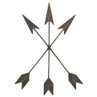 Cast Iron Native American Arrow Wall Decor - King City Treasures