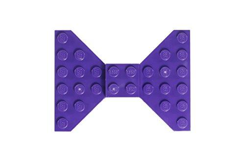 Custom Purple LEGO Hair Bow/Clip - King City Treasures