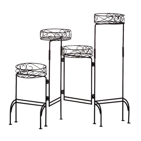 4-Tier Metal Plant Stand - King City Treasures