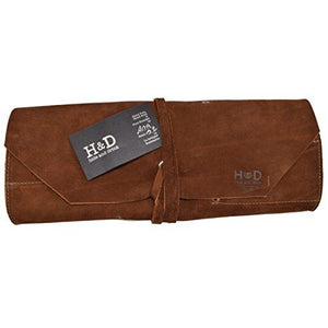 Big Tool Roll Handmade by Hide & Drink :: Swayze Suede - King City Treasures