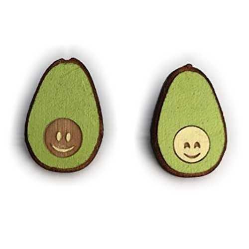 Avocuddles Cute Avocado Magnet Set | Handmade Avocado Friendship Fridge Magnets | Cute Wooden Avocados Gift | Unique Kitchen Decoration - King City Treasures
