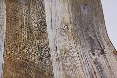 Barnwood Wood Panel Wood Plank Wallpaper - King City Treasures