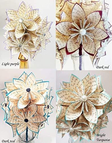 "A Dozen""I Love You's"" - 12 paper flowers - King City Treasures"