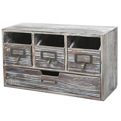 Rustic Desktop Office Organizer