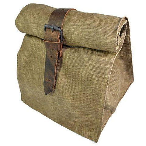 Waxed Canvas All Purpose Cord & Tool Bag Handmade by Hide & Drink :: Fatigue