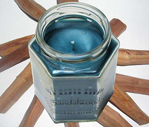 Sandalwood Scented Blended Soy Candle | Hand Poured Candles Made in the USA by Just Makes Scents
