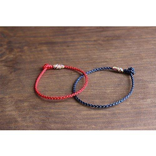 af37ff7749 TALE Lucky Rope Bracelet Tibetan Buddhist Hand Braided Knots - Matching  Bracelets