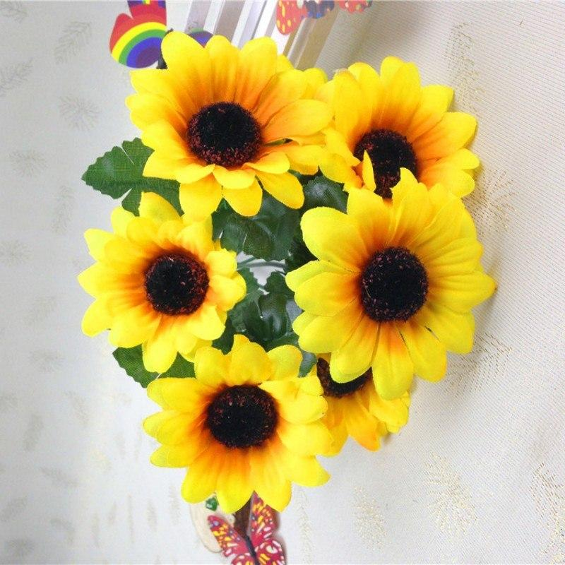 Fall Vivid Sunflower Bouquet - King City Treasures