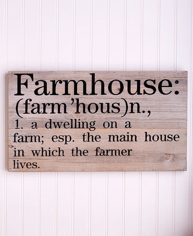 Farmhouse Wooden Wall Art