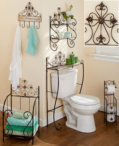 Bronze Cross Bathroom Collection