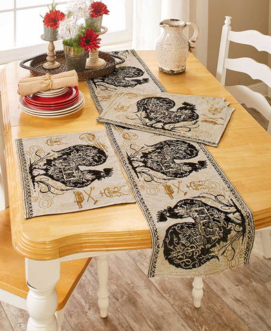 Agrarian Rooster Tapestry Home Collection - King City Treasures