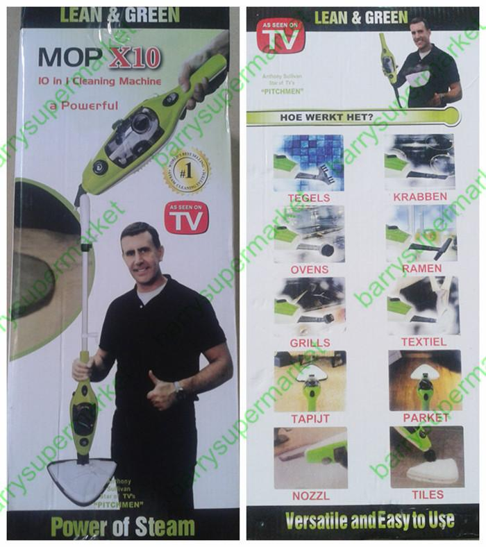 6in 1 Multifunction Steam Mop X10 Steam Cleaner on TV