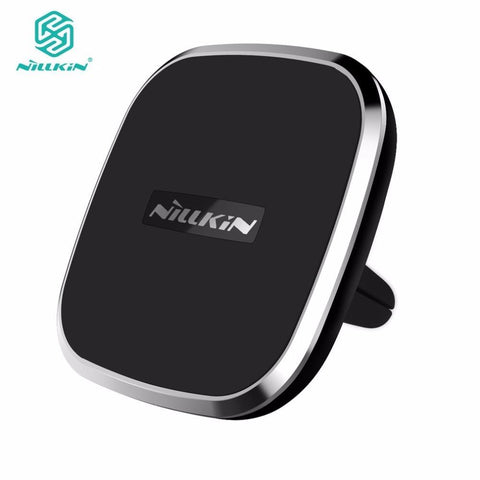 Nillkin Qi Wireless Car Charger for Samsung Galaxy S8 S8 Plus for iPhone 8 8 Plus X Magnetic Car Phone Holder 2 in 1