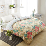 Chrysanthemum Duvet Cover with Zipper - King City Treasures