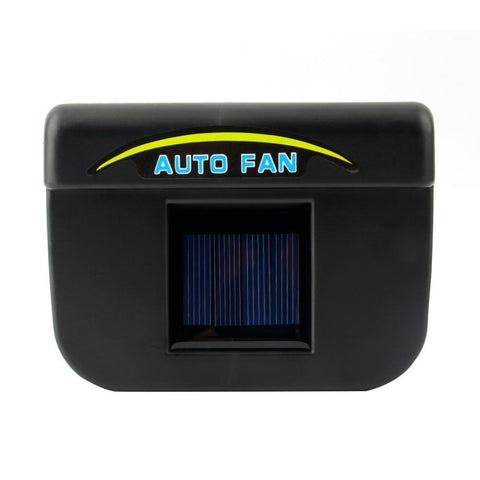car ventilation fan Solar Sun Power Car Window Fan Auto Ventilator Cooler Air Vehicle Radiator vent With Rubber Stripping* - King City Treasures