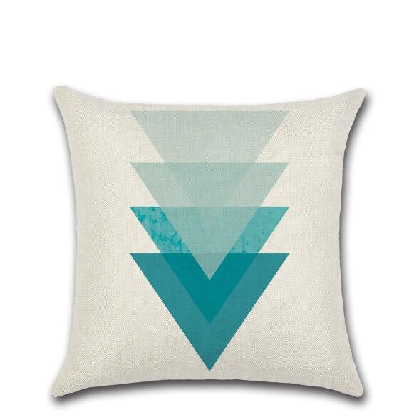 Abstract and geometrical pattern decorative pillows - King City Treasures